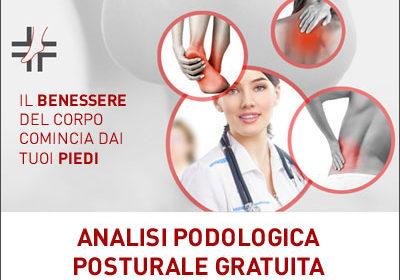 ANALISI PODOLOGICA-POSTURALE GRATUITA – 08 ottobre 2019